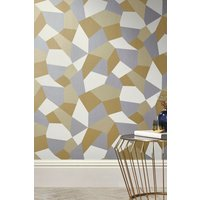 Next Paste The Wall Deco Oriental Wallpaper - Gold
