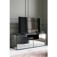 Next Sloane Wide TV Stand - Silver