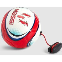 Boys Messi Training 2 In 1 Soft Touch Training Football - Red