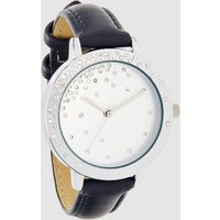 Womens Next Navy Scattered Jewel Watch - Blue