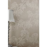 Next Paste The Wall Frosty Twig Wallpaper - Silver