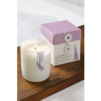Next Lavender and Chamomile Candle - White