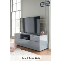 Next Sloane Wide TV Stand - Grey