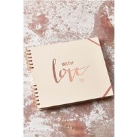 Next With Love Scrapbook - Pink