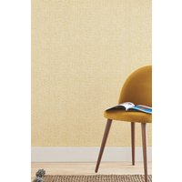 Next Paste The Wall Ochre Texture Wallpaper - Yellow