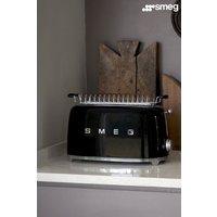 Smeg 4 Slot Toaster - Black