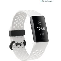 Womens Fitbit White Charge 3 - White