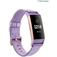 Womens Fitbit Lilac Charge 3 - Purple