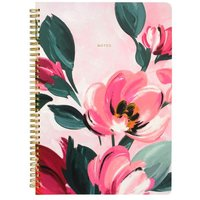 Cath Kidston Paintbox Flowers A4 Notepad - Pink