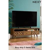 Next Lloyd Wide TV Unit - Natural