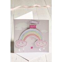 Girls Next Baby Girl Keepsake Card - Pink