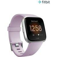 Womens Fitbit Versa Lite Smartwatch - Purple