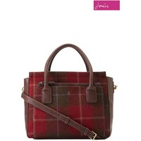 Womens Joules Day-To-Day Tweed Everyday Bag - Red