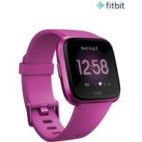 Womens Fitbit Versa Lite Smartwatch - Pink