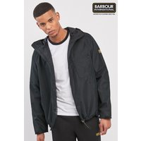 Mens Barbour International Grange Parka - Black