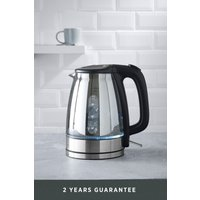 Next Glass Kettle - Chrome