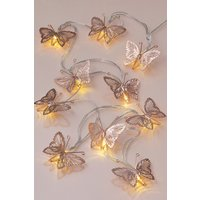 Next Butterfly Line Lights - Copper