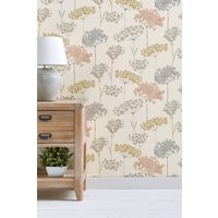 Next Pasture Trees Paste The Wall Wallpaper - Natural