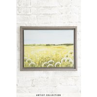 Next Artist Collection Meadow By Janet Bell Medium Frame - Yellow