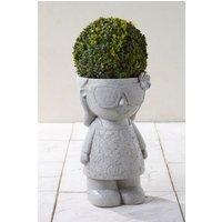 Next Nancy Gnome Planter - Grey