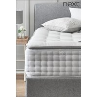 Next 2000 Pocket Sprung with Pillow top Collection Luxe Firm Mattress - White