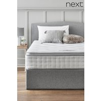 Next 1500 Pocket Sprung Luxury Pillow Top Firm Mattress - White
