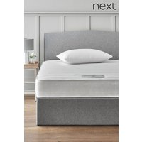 Next Single Rolled Open Sprung Memory Foam Firm Mattress - White