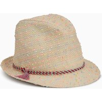 Girls Next Straw Trilby (Younger) - Natural