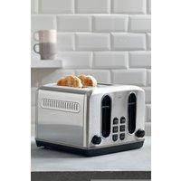 Next 4 Slot Toaster - Silver