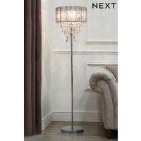 Next Palazzo Floor Lamp - Chrome