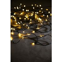 Next 200 Warm White LED Green Cable Lights - Green