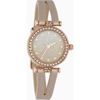 Womens Next Rose Gold Tone Split Strap Watch - Gold