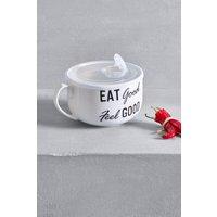 Next Eat Good Soup Mug - Black