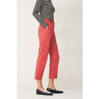 Womens Next Bright Pink Cotton Blend Capri Trousers - Pink