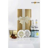 Next Glam Night In Gin Gift Set - Gold