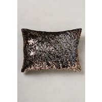 Next Leopard Sequin Cushion - Gold