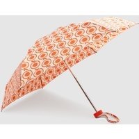 Womens Next Red Apple Print Umbrella - Red