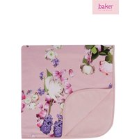 Girls baker by Ted Baker Light Pink Blanket - Pink