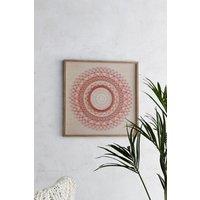 Next 3D Spiral Framed Art - Red