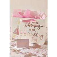 Next Wedding Day Gift Bag - Cream