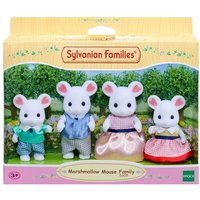 Girls Sylvanian Families Marshmallow Family