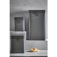 Next Set of 3 Peyton Storage Tins - Grey