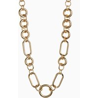 Womens Next Gold Tone Chunky Chain Short Necklace - Gold