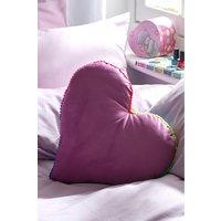 Next Velvet Shaped Cushion - Purple