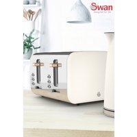 Swan Nordic 4 Slot Toaster - White