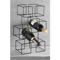 Next Geometry Wine Rack - Black