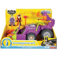 Boys Imaginext DC Super Friends The Joker & Harley Quinn Battle Vehicle