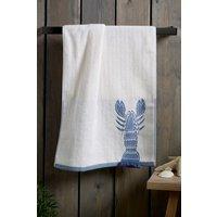 Next Lobster Hand Towel - Blue