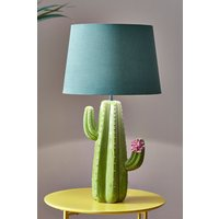 Next Cactus Table Lamp Base Only - Green