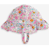 Girls Next Ditsy Sun Hat (Younger) - Blue